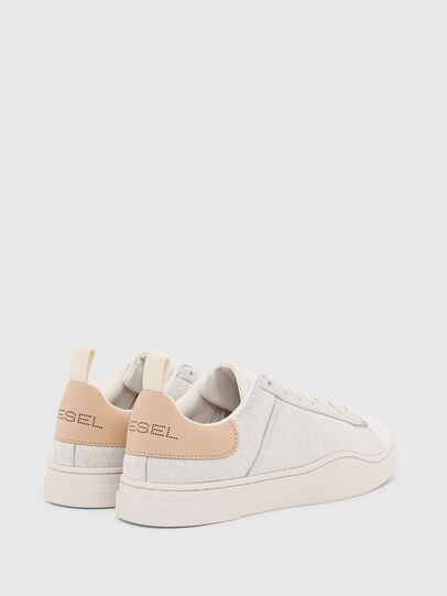 Diesel - S-CLEVER LOW LACE W, Blanc - Baskets - Image 3