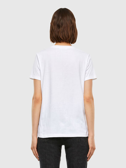 Diesel - T-SILY-V23, Blanc - T-Shirts - Image 2