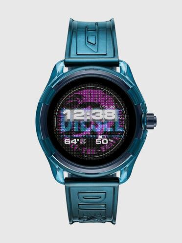 Montre connectée Diesel On Fadelite - Bleu transparent