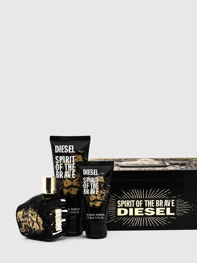 Diesel - SPIRIT OF THE BRAVE 75ML METAL GIFT SET, Noir - Only The Brave - Image 1