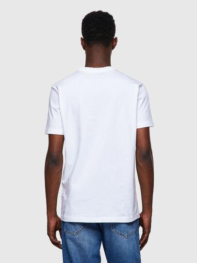 Diesel - T-DIEGOS-B8, Rouge/Blanc - T-Shirts - Image 2