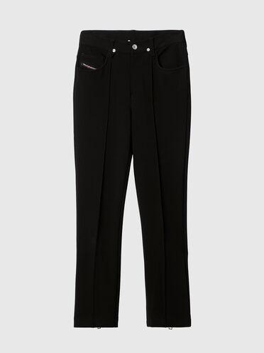 Pantalon Bootcut à 5poches en tissue stretch
