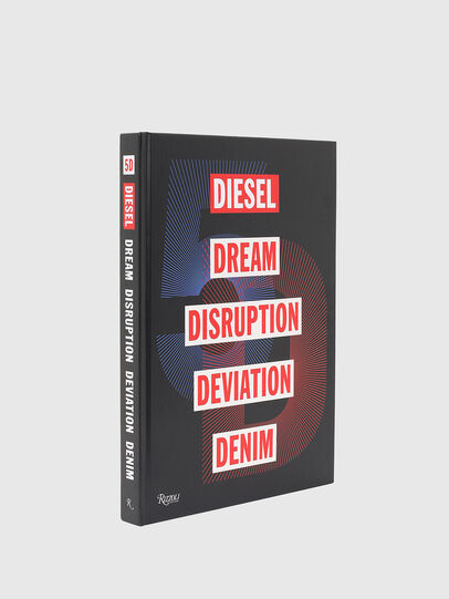 Diesel - 5D Diesel Dream Disruption Deviation Denim, Noir - Livres - Image 1