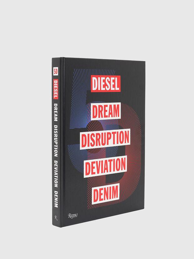 5D Diesel Dream Disruption Deviation Denim, Noir - Livres