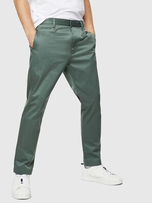 P-MAD-ICHIRO, Vert Olive - Pantalons