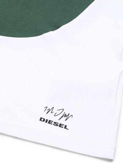 Diesel - D-SHIELD-GREEN, Blanc - T-Shirts - Image 3