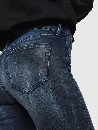 Diesel - Slandy 0096K, Bleu Foncé - Jeans - Image 4