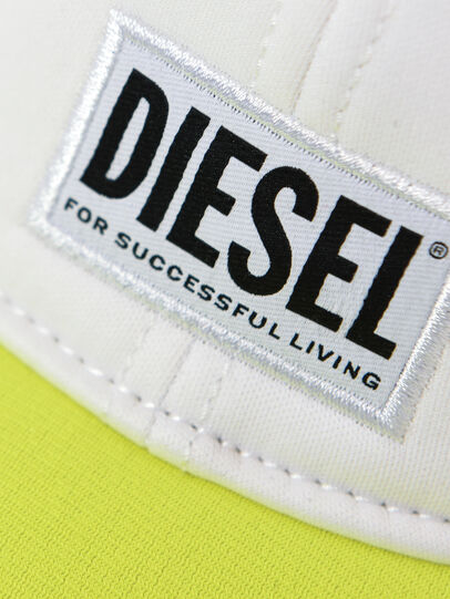 Diesel - DURBO, Blanc/Jaune - Chapeaux - Image 3