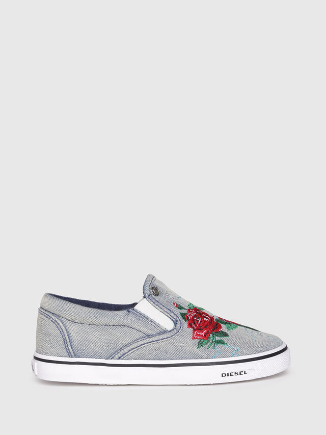 Diesel - SLIP ON 14 ROSE CH, Gris - Footwear - Image 1