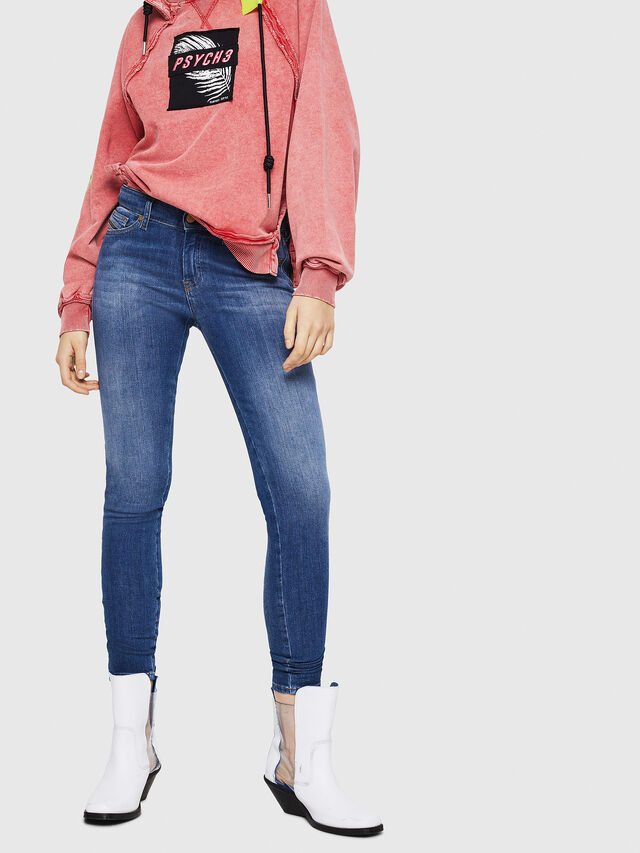 Diesel - Slandy 088AU, Bleu moyen - Jeans - Image 1