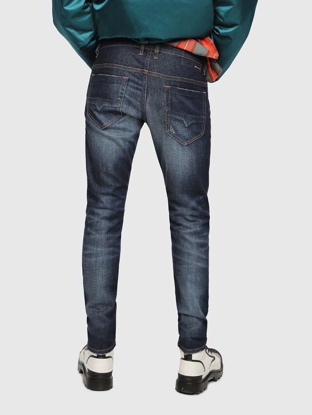 Diesel - Thommer 087AN, Bleu Foncé - Jeans - Image 2
