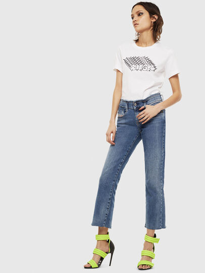 Diesel - T-SILY-S6, Blanc - T-Shirts - Image 4