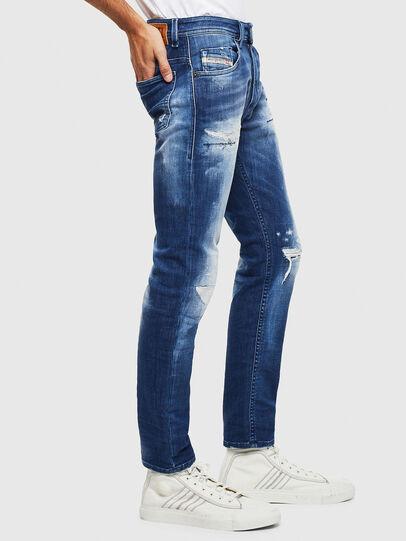 Diesel - Thommer JoggJeans 0099S, Bleu Foncé - Jeans - Image 4