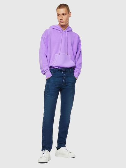 Diesel - Krooley JoggJeans 0098H, Bleu moyen - Jeans - Image 6
