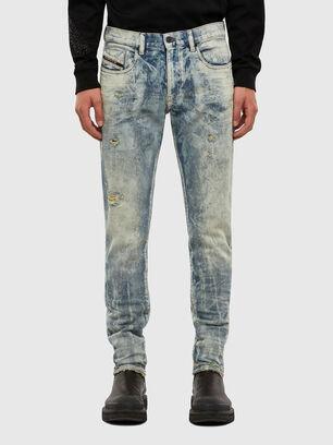 D-Strukt 009FM, Bleu Clair - Jeans
