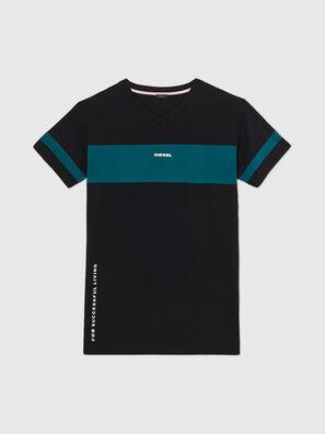 UFTEE-CHEERLY, Noir/Bleu - T-Shirts