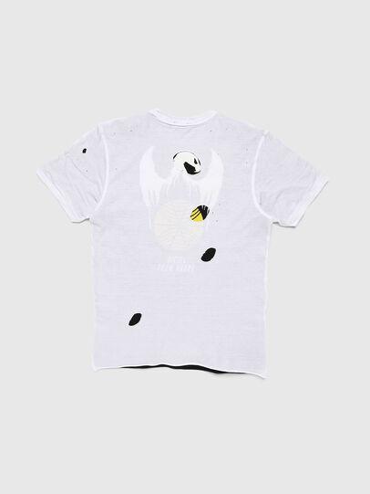 Diesel - TJUSTLAY, Blanc/Noir - T-shirts et Hauts - Image 2