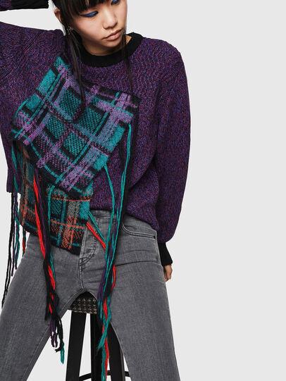 Diesel - Babhila 0890S, Gris Clair - Jeans - Image 3