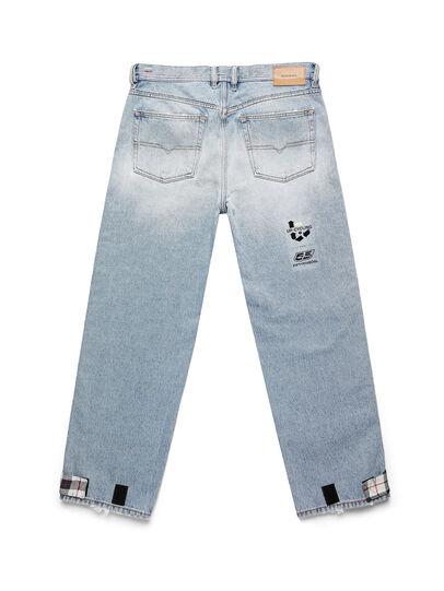 Diesel - D-DEEPCHECKDENIM, Bleu Clair - Pantalons - Image 2
