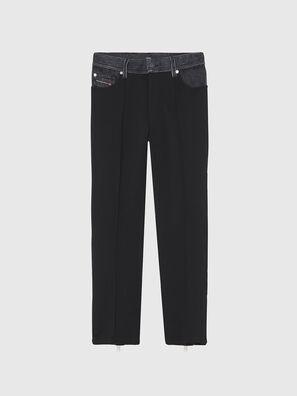 P-BRADLEY, Noir/Gris foncé - Pantalons