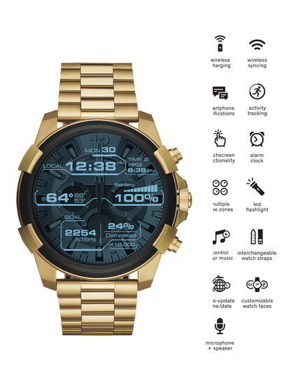 Diesel - DT2005, Or - Smartwatches - Image 1