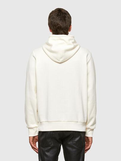 Diesel - S-GIRK-HOOD-N3, Blanc - Pull Cotton - Image 2