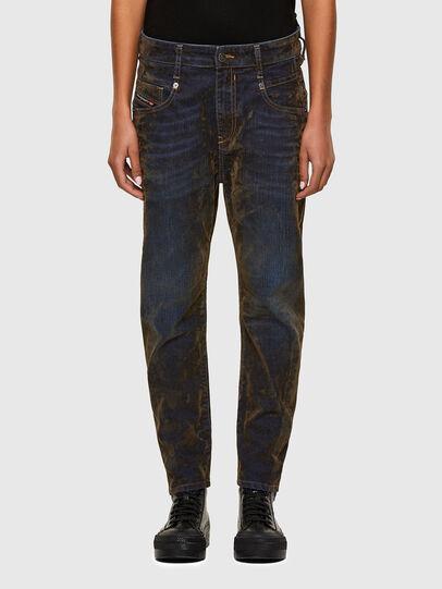 Diesel - Fayza 069RQ, Bleu/Jaune - Jeans - Image 1