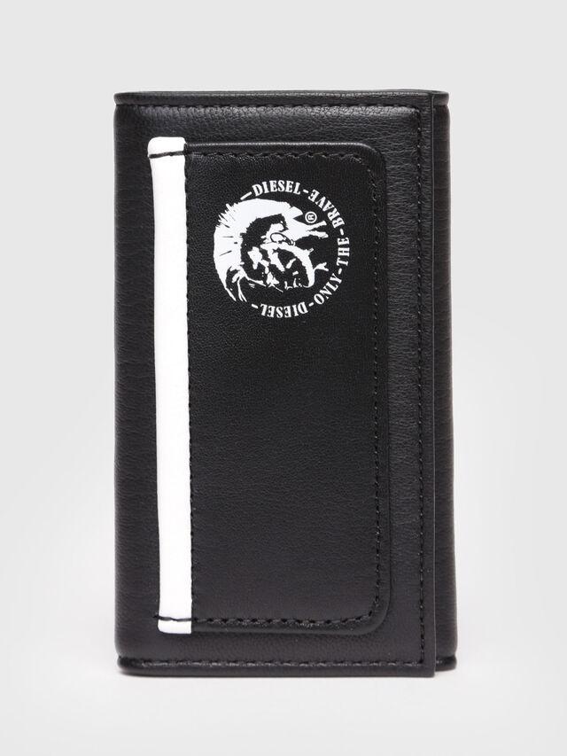Diesel - KEYCASE P, Cuir Noir - Bijoux et Gadgets - Image 1
