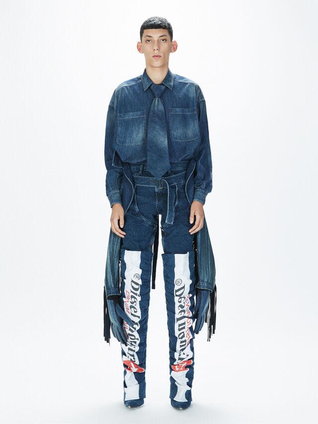 Diesel - SOCSJ01, Bleu Foncé - Pantalons - Image 7