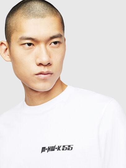Diesel - T-JUST-B31, Blanc - T-Shirts - Image 3