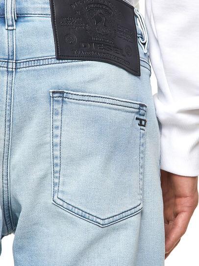 Diesel - D-Strukt JoggJeans® Z69VL, Bleu Clair - Jeans - Image 4