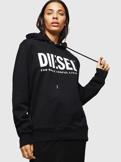Diesel - F-GIR-HOOD-DIV-LOGO-,  - Pull Cotton - Image 1