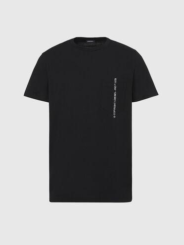 T-shirt avec Copyright brodé