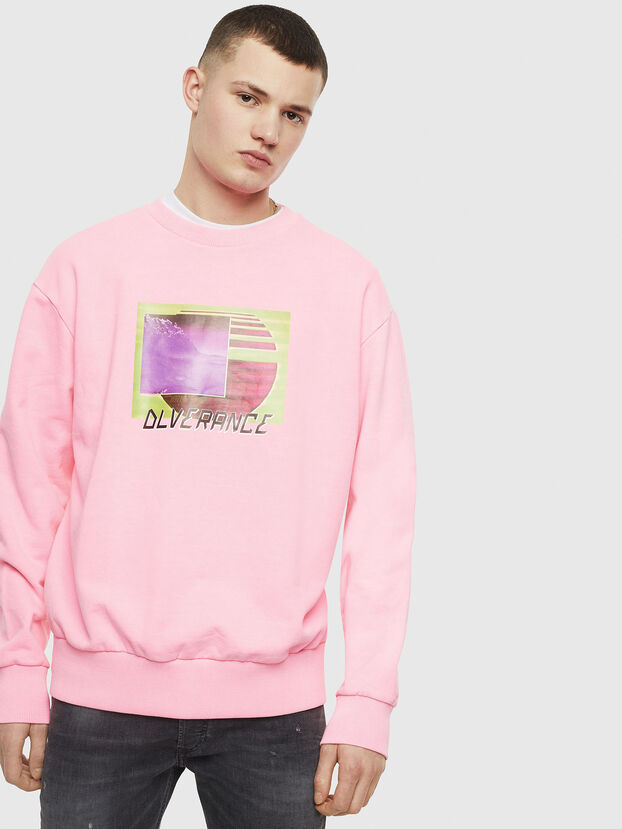 S-BIAY-FLUO, Rose - Pull Cotton