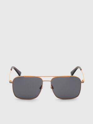 DL0295, Orange/Noir - Lunettes de soleil