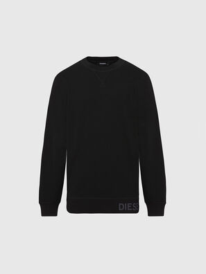 S-PEWTER, Noir - Pull Cotton
