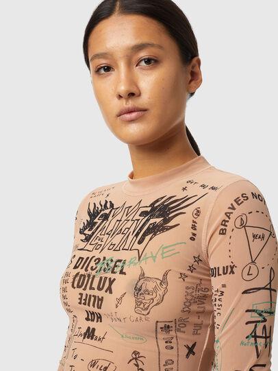 Diesel - T-SIELAY, Rose Poudré - T-Shirts - Image 3