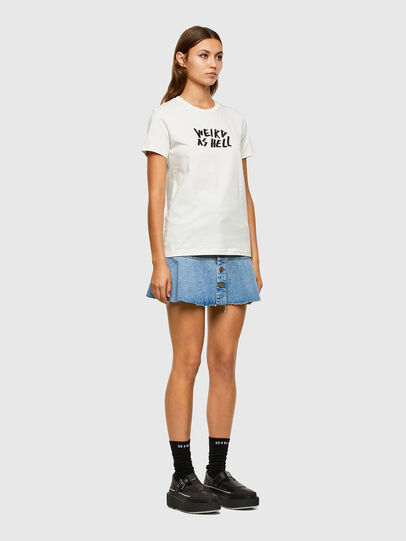 Diesel - T-SILY-E55, Blanc - T-Shirts - Image 5