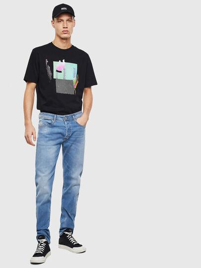 Diesel - Buster 069MN, Bleu Clair - Jeans - Image 5