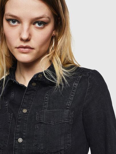 Diesel - DE-FLYP, Noir/Gris foncé - Chemises en Denim - Image 3