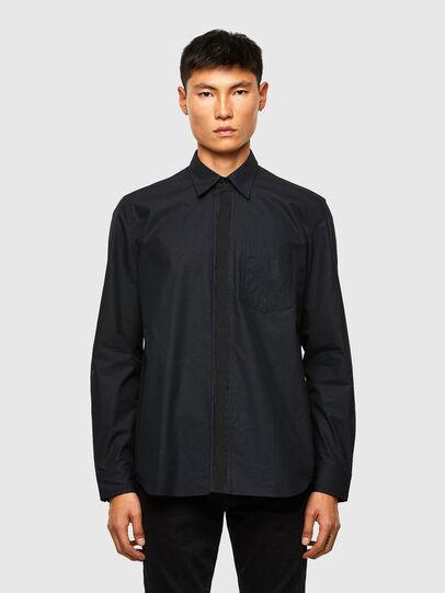 Diesel - S-OLSEN, Noir - Chemises - Image 1