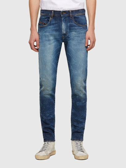 Diesel - D-Strukt 009NT, Bleu moyen - Jeans - Image 1