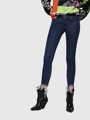 Slandy Low 088AT, Bleu Foncé - Jeans