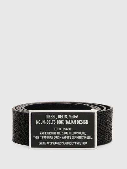 Diesel - B-LAZISE, Noir - Ceintures - Image 1