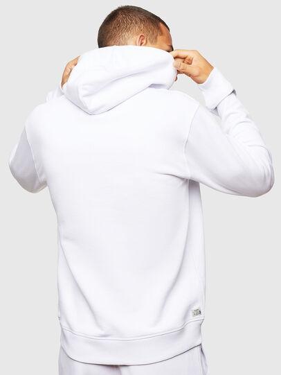 Diesel - UMLT-BRANDON, Blanc - Pull Cotton - Image 2