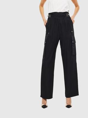 P-MARIE, Noir - Pantalons