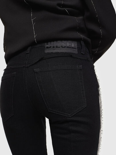 Diesel - Babhila 0NAZH, Noir/Gris foncé - Jeans - Image 4