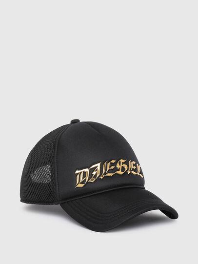 Diesel - C-TRUC, Noir - Chapeaux - Image 1