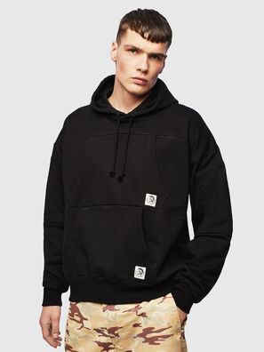 S-ALBY-POCKETS, Noir - Pull Cotton