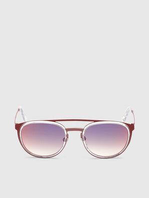 DL0293, Rouge/Blanc - Lunettes de soleil